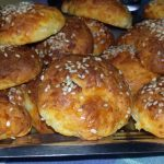 Bread balls with cheese