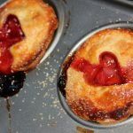 Valentine's Strawberry Pies