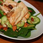 Crisp and Clean Salmon Salad