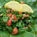 Refreshing Cracked wheat and Parsley Salad
