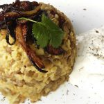 Mujadara Lentils and Bulgur Wheat