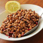 Warm Black Eyed Bean Salad