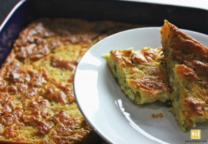 Courgette Pie