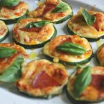 Courgette Pizza Bites